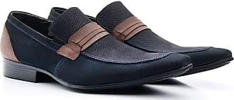 Di Lopes Shoes Calçado Masculino Social em Couro. (38, Marinho)