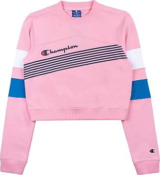Champion Women Sweatshirt Crewneck Croptop 112761, Size:S, Color:cnp