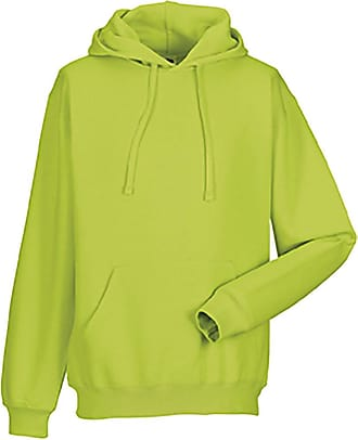 Russell Athletic Russell Colour Mens Hooded Sweatshirt / Hoodie (S) (Lime)