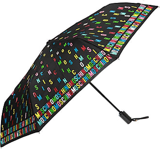 Moschino Patterned Umbrella With Logo Unisex Multicolour