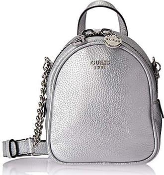 Guess Urban Chic Metallic Mini Crossbody Bag, Silver, One Size
