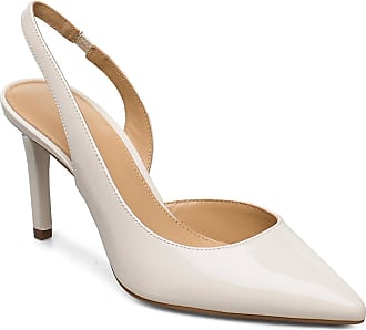 Michael Kors Lucille Flex Sling Shoes Heels Pumps Sling Backs Creme Michael Kors Shoes