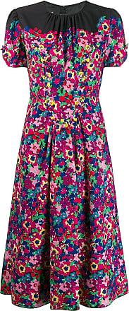 Marc Jacobs Vestido midi estampado - Rosa