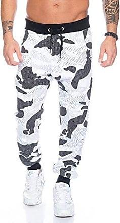 ec178dcf5dc377 Fashion Forms Herren Jogginghose - mehrere Farben ID485, Größe:XL;Farbe:Weiß