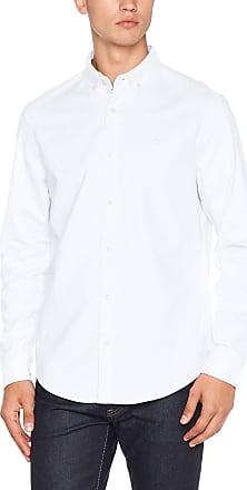 Original Penguin Mens Oxford Business Shirt, White (Bright White), (Size: X Large)