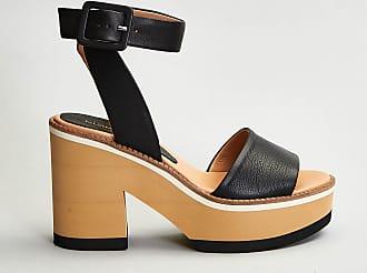 Reposi Calzature PALOMA BARCELO Sandalo in pelle nero
