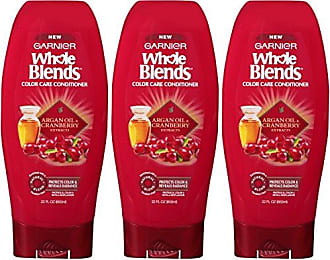 Garnier Hair Care Whole Blends Color Care Conditioner with Argan Oil & Cranberry Extracts, 3 Count