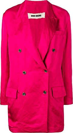 Uma Wang double-breasted coat - Pink