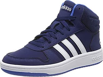 698a14bc7bafc adidas Hoops Mid 2.0 K, Chaussures de Fitness Mixte Enfant, Multicolore  (Azuosc/