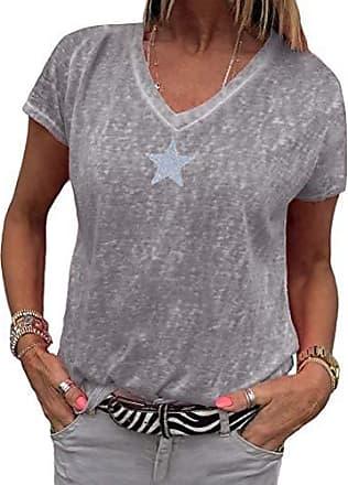 Locker T-Shirt Sommer Kurzarm Ananas Stickerei Patchwork Mädchen Dame Mode Chic
