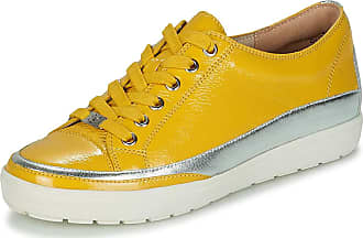 Caprice Trainers Femmes Yellow/Silver - UK:3.5 - Low top Trainers