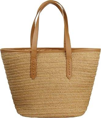 YYW Women Straw Woven Beach Bag Summer Large Weaving Straw Tote Purse Wallet Handbag Shoulder Bag with Straps (Khaki)