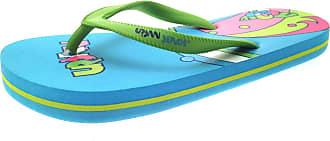Urban Beach Womens Girls Flip Flops Blue Green
