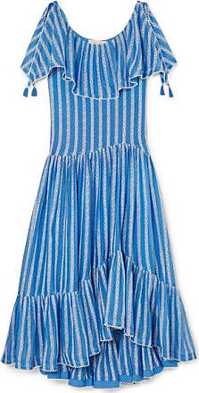 dfb9ececef Tory Burch Crochet-trimmed Ruffled Broderie Anglaise Cotton And Silk-blend  Voile Maxi Dress