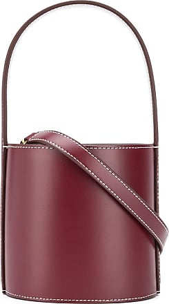 Staud Bissett leather bucket bag - Vermelho
