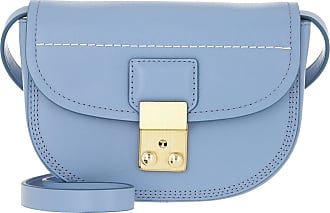 3.1 Phillip Lim Pashli Mini Saddle Belt Bag Chambray Umhängetasche blau