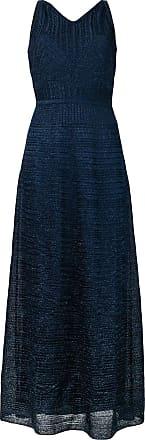 M Missoni Vestido longo sem mangas - Azul