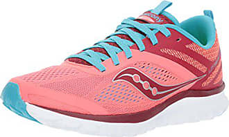 Saucony Womens Miles Sneaker,Coral Blue,7 Medium US