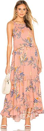 Free People Anita Printed Maxi Dress in Pink