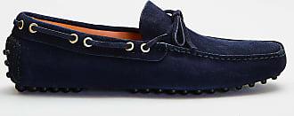 Car Shoe Car shoe - mocassino in pelle scamosciata - blu