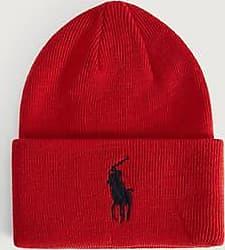 Polo Ralph Lauren MÖSSA Big PP hat Röd
