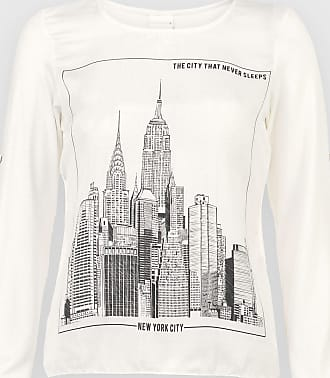 Enfim Blusa Enfim New York Off-White
