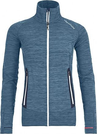 Ortovox Fleece Light Melange Jacket Wolljacke für Damen | blau