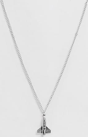 Icon Brand Collana argento con ciondolo a forma di razzo