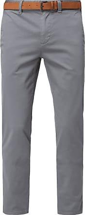 Details zu Mcneal Chino aus Baumwolle mit Stretch Anteil Herren Hose Dunkelgrün Größe 46