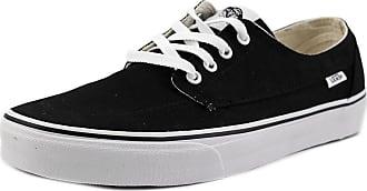 36611da46b Vans Vans Unisex Brigata Black True White Skate Shoe 7.5 Men US   9 Women