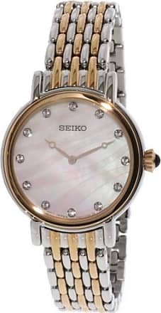 Seiko Womens Conceptual SFQ806 Silver Stainless-Steel Japanese Quartz Fashion Watch