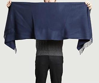 Samsøe & Samsøe Einzigartige Größe Marineblau Wolle Efin Schal - navy blue | wool | Unique size - Navy blue