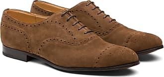 Churchs Suede Oxford Brogue Man Sigar Size 10,5
