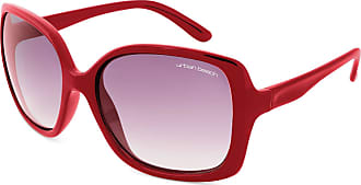 Urban Beach Womens Big Shade Sunglasses - Red