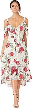 BCBGMAXAZRIA Womens La Rosa Lace Dress