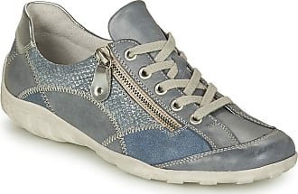 Remonte Womens Ravenna Jeans Blue Lace-Up Trainer Shoes R3405-14 3.5 UK