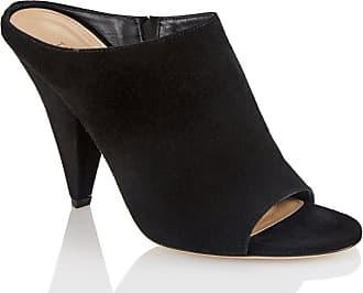 Tamara Mellon Kendra Black Suede Sandals, Size - 35.5