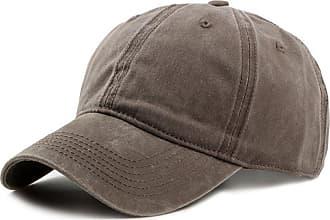 Hellomiko Fashion Retro Baseball Cap Sports Caps Mens Hats Women Hats Adjustable Washable Couple Caps Casual Caps Brown