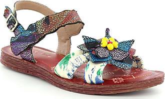 4eae548dec9 Laura Vita Brownie 04 SL265-4A Womens Open Toe Sandals - Red UK 6