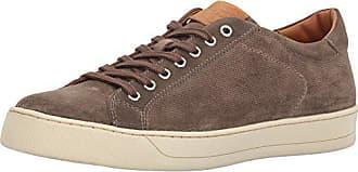 Bruno Magli Mens Walter Fashion Sneaker, Taupe Suede, 11.5 M US