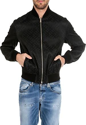 f5c264c2069 Versace Black jacket with Versace Greca motif