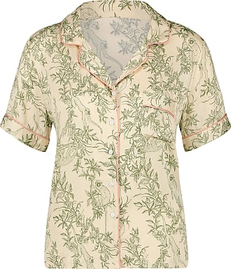 Hunkemöller Woven Pyjama Jacket Beige S