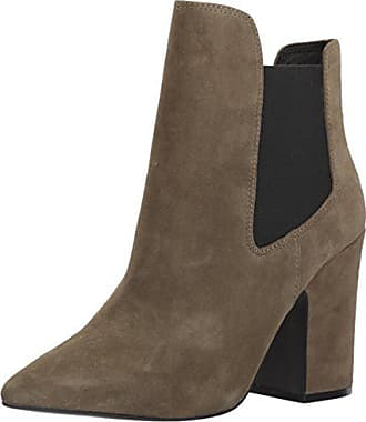 Chinese Laundry Womens Starlight Ankle Bootie, Olive Suede, 6.5 M US