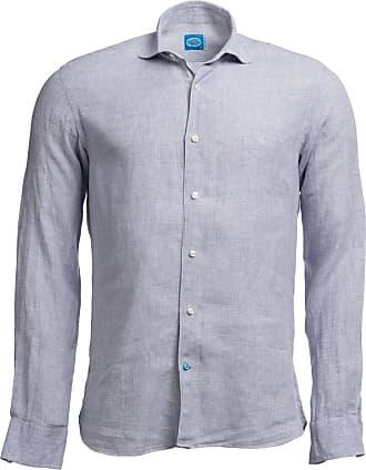 Panareha KRABI Checked Linen Shirt Grey