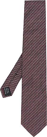 Tom Ford Gravata de seda - Vermelho