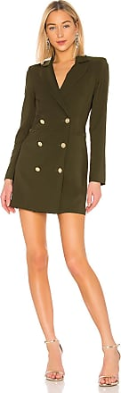 Nookie Milano Blazer Dress in Olive