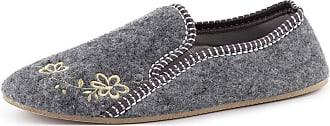 Ladeheid Women´s Felt Shoes Slippers Flipflops LABR530 (Grey, 5 UK)