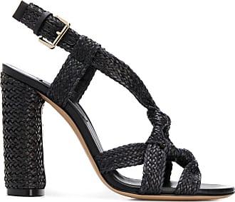 Casadei Ushuaia woven sandals - Black