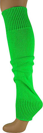 MySocks Leg Warmers Plain Neon Green