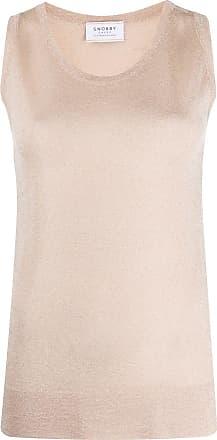 Snobby Sheep Blusa metálica de tricô - Neutro